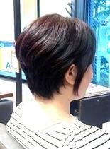 お客様スタイル(髪型ショートヘア)