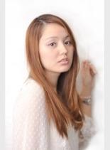 シルキーストレート(髪型ロング)