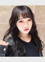 ゆるふわクール(髪型セミロング)