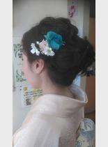 ミセス アップ(髪型ロング)
