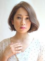 フェミニンボブ(髪型ボブ)