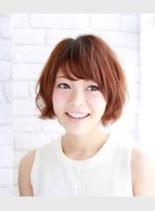 ニュアンスパーマ(髪型ショートヘア)