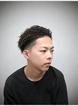 ソフトツイストスタイル(髪型メンズ)