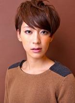 フレンチハンサムショート(髪型ショートヘア)