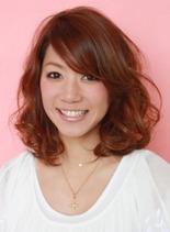 ブロッサムウェーブ(髪型ミディアム)