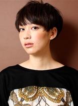 リラックスモード(髪型ショートヘア)