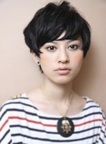 サマー・マッシュショート☆(髪型ショートヘア)