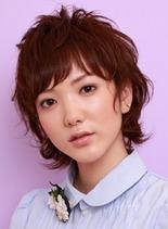 oneカールショートレイヤー(髪型ショートヘア)