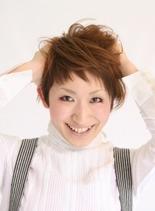 アクティブショート(髪型ショートヘア)