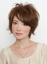 プレミアムショート(髪型ショートヘア)