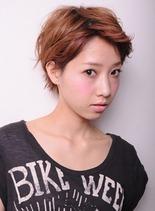 マニッシュ ショート(髪型ショートヘア)