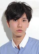 コンパクトエアリーショート(髪型メンズ)