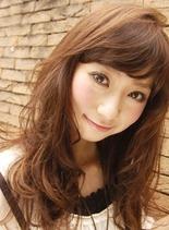 ロングカール(髪型ロング)