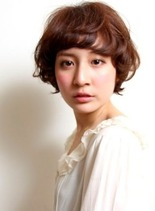 マッシュ・フレンチ・ショート(髪型ショートヘア)