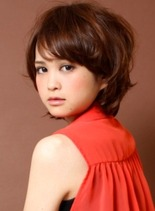 シフォン・ショート(髪型ショートヘア)