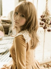 Sweet curl long(髪型ロング)