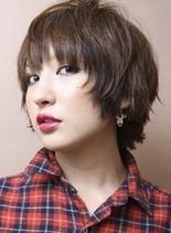 スタイリッシュショート(髪型ショートヘア)